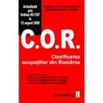 C.O.R. Clasificarea ocupatiilor din Romania